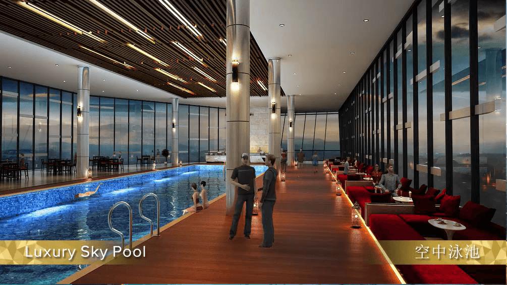 Grand Ion Majestic luxury sky pool